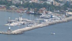 Marine Station of Varna in Bulgaria Stock Photos