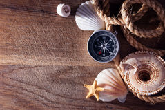 Marine still life. Stock Photo