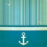 Marine striped old background Royalty Free Stock Photo
