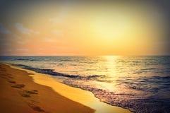 Marine sunrise Stock Photos