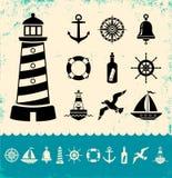 Marine Symbols Stock Photos