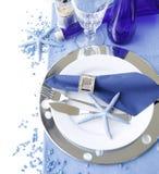 Marine table setting Stock Image