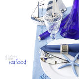 Marine table setting Royalty Free Stock Photography