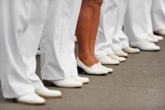 Marine-Tag Stockbild