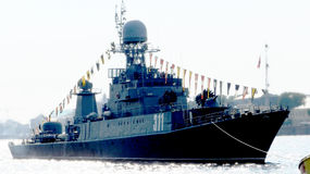Marine-Tag Lizenzfreies Stockbild