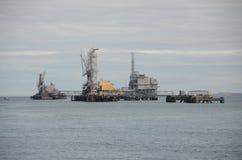 Marine Terminal Arkivfoto