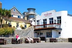 Marine Theatre, Lyme Regis. Stock Image