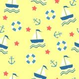 Marine theme. Royalty Free Stock Images