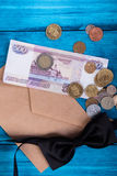 Marine theme blue background Royalty Free Stock Photos