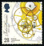 Marine Timekeeper No. 4 Postage Stamp Royalty Free Stock Photography