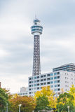 Marine Tower in yokohama Royalty Free Stock Photography