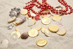 Marine treasures Stock Photo