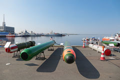 Marine underwater weapons Royalty Free Stock Images