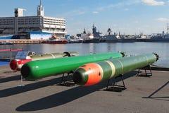 Marine underwater weapons Stock Image