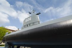 Marine-Unterseeboot stockfoto