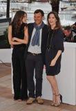 Marine Vacth & Francois Ozon & Geraldine Pailhas Fotografering för Bildbyråer