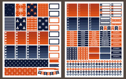 Free Marine Vector Stickers For Planner Royalty Free Stock Photography - 82320997