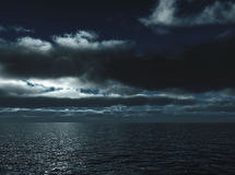 Free Marine Waves In Night Royalty Free Stock Image - 12921666