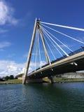 Marine Way Bridge Royaltyfri Foto