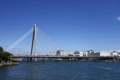 Marine Way Bridge Stock Image