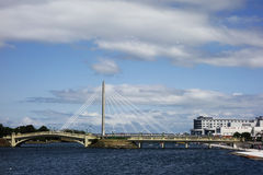 Marine Way Bridge Stock Photos