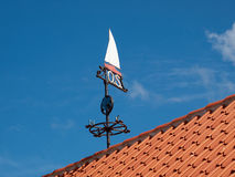 Marine weather vane Royalty Free Stock Photo