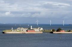 Marine wind farm Royalty Free Stock Photo