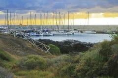 Marine yacht club Stock Photography