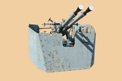 Marine zenithal cannon Stock Photo