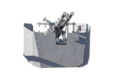 Marine zenithal cannon Stock Images