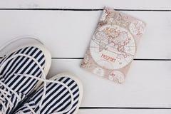 Marineartpostkarte Lizenzfreie Stockfotos