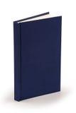 Marineblauw boek - het knippen weg Stock Foto