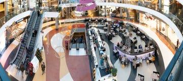 Marineda市购物中心 库存照片