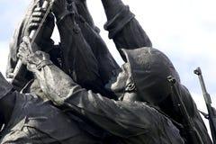Marineerinnerungsiwo jima Lizenzfreies Stockbild