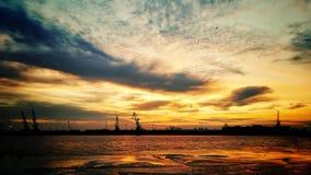 Marinehafen Stockfotos