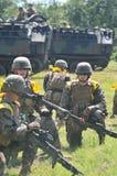 Marinekräfte Vereinigter Staaten in Indonesien stockfotos