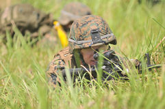 Marinekräfte Vereinigter Staaten in Indonesien lizenzfreies stockbild
