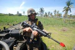 Marinekräfte Vereinigter Staaten in Indonesien lizenzfreies stockfoto