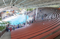 Marineland amphitheater Stock Photos