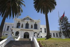 Marinemuseum Valparaiso Stockfoto