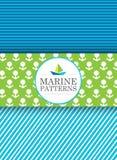 Marinemuster Lizenzfreies Stockfoto