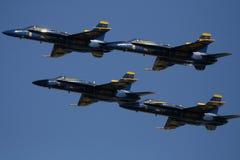 marinen planes oss Royaltyfria Bilder