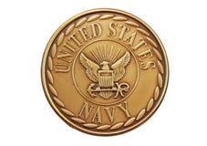 marinen varar stolt över oss Royaltyfri Fotografi