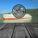 Mariner club badges logos and labels for any use Royalty Free Stock Image