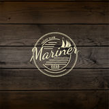 Mariner club badges logos and labels for any use Royalty Free Stock Photo