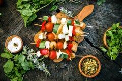 Marinerat BBQ-kött Arkivfoto