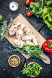 Marinerat BBQ-kött Fotografering för Bildbyråer