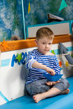 Marinero Boy Imagen de archivo libre de regalías
