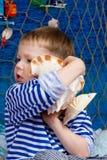 Marinero Boy Foto de archivo libre de regalías