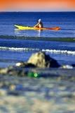 Marinero del kajak fotografía de archivo